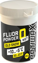 Optiwax  FluorPowder Wet 0 +10...-5°C, 25g