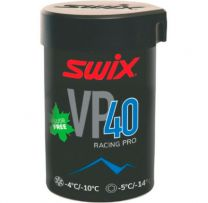 SWIX VP40 Pro Blue Grip Wax -4°...-10°C, 45g