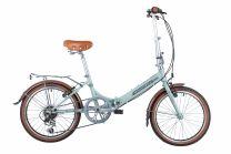 """Novatrack Детский велосипед 20"""" AURORA светло-бирюзовый"""
