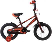 """Novatrack Детский велосипед 16"""" EXTREME коричневый"""